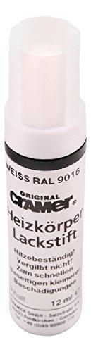 Cramer 66150 8 Heizkörper Lackstift, 9016 | Weiß