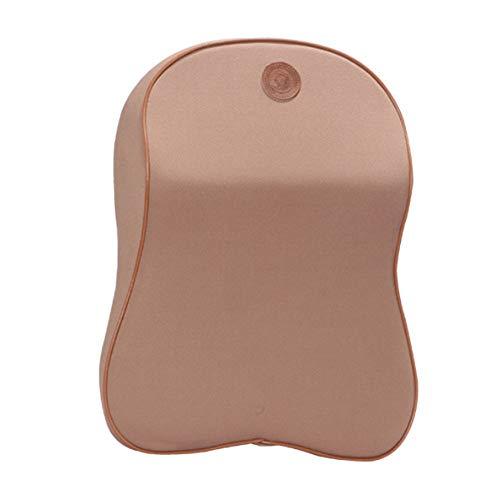Auto-Nackenkissen Kopfstütze Massage-Sitz Für Gedächtnisschaum, Mode Komfortabel, Atmungsaktive Abnehmbare Wäsche, Die Große Qualität Nacken Unterstützung Für Männer & Frauen,Brown