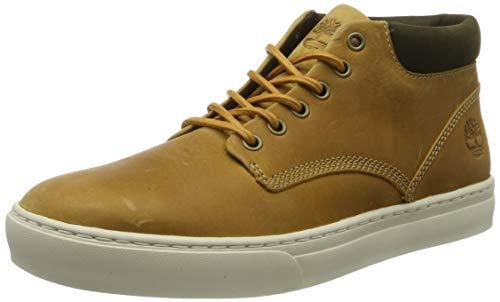 Timberland Herren Adventure 2.0 Cupsole Sneaker Halbhoch, Gelb (Wheat), 41.5 EU