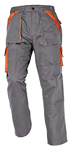 Stenso Max - Pantaloni da Lavoro in Cotone da Uomo Grigio 62