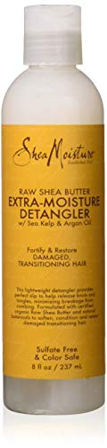 Shea Moisture Leave In Conditioner (Anti-klit leave-in conditioner met Shea butter & Arganolie - 236 ml)