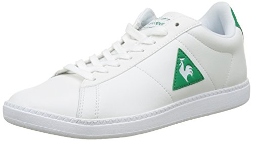 Le Coq Sportif Courtset, Basses Homme Blanc (Optical White/Ver Cl)