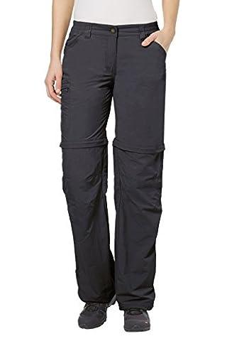 VAUDE 03873 pantalon pour femme farley zO taille Gris Basalt 38-Long