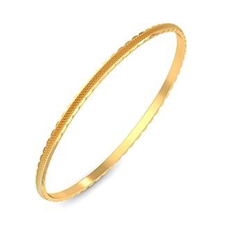 BlueStone 18k (750) Yellow Gold Edda Bangle