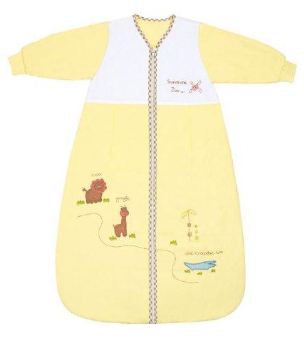 Schlummersack Baby Winter Schlafsack Langarm 3.5 Tog 90cm/6-18 Monate - Zoo (10 Größe Kinder Mädchen Schlafanzug)