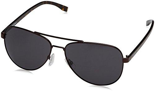 BOSS Hugo Herren 0761/S IR 25B Sonnenbrille, Braun (Mtbrown Havana/Grey Blue), 60