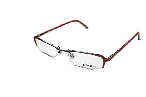MEXX Damen Brille Modell 5458 col.525 Gr.50-21 Silber Braun - 525 Brillen
