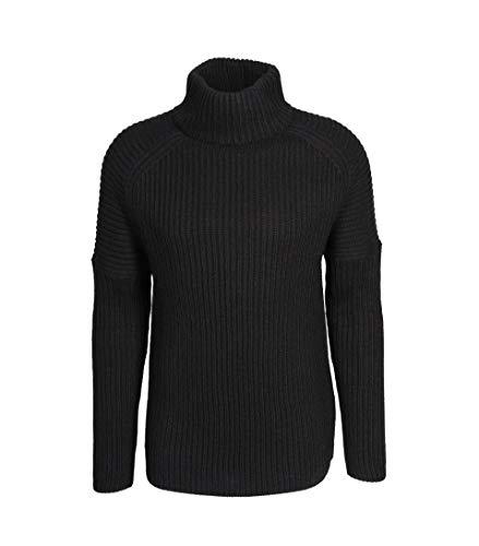 drykorn pullover herren Drykorn Herren Rollkragenpullover in Schwarz 1000 schwarz M
