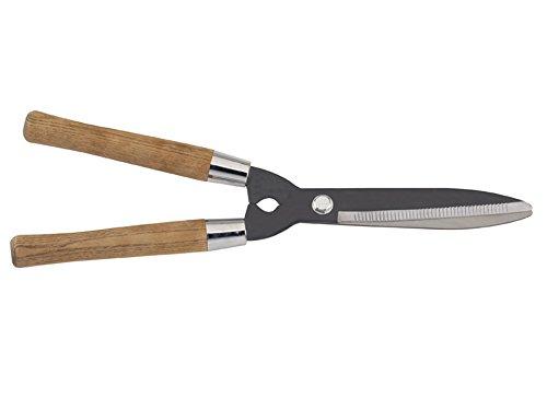 Revex Cisaille à Haie - lame ondulée - manche bois 23cm