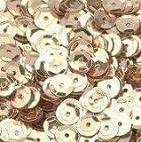 efco rund-Pailletten, Gold, 6mm, 40g, 4000-piece