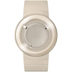 o.d.m. Unisex MY01-4 Michael Young-Reverse-Serie weiss Uhr