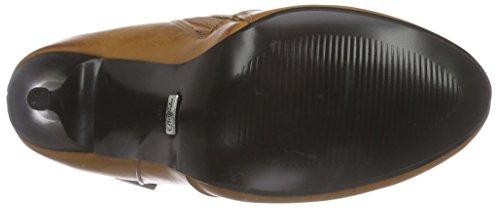 Buffalo Y433-41 P1799c Leather Pu, Bottines avec doublure intérieure femme Marron - Braun (BROWN 01)
