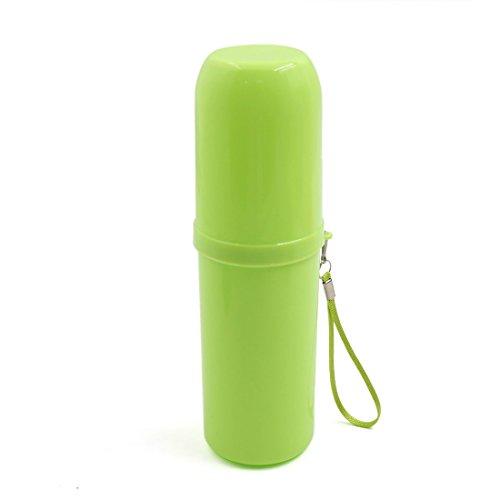Vert En Plastique Portable À La Maison Voyage Brosse support Cas Couverture Coupe Organisateur Boîte De Stockage