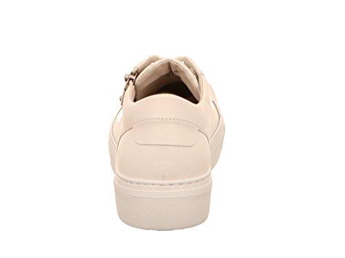 Gabor 84.314.20, Chaussures À Lacets Femme Blanc Blanc Noir