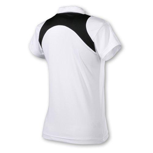 Head Damen Poloshirt Club Women weiß/schwarz