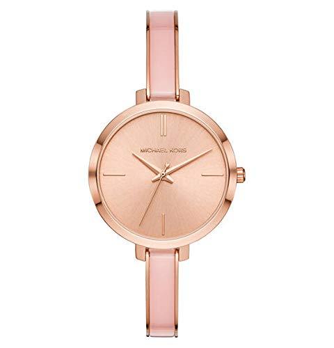 MICHAEL KORS Damen Analog Quarz Uhr mit Edelstahl Armband MK4343