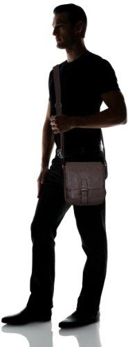 Tom Tailor Acc JANO Überschlagtasche 11631 60 Unisex-Erwachsene Schultertaschen 23x24x10 cm (B x H x T) Braun (braun 29)