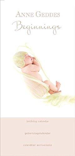 Birthday Calendar: Anne Geddes Beginnings