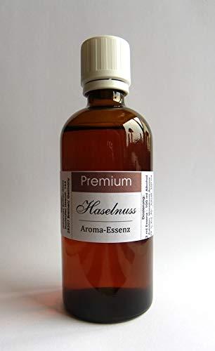 PREMIUM Aroma Essenz 100 ml konzentriert (Haselnuss) für SPIRITUOSEN und Lebensmittel, Deutsches Produkt!