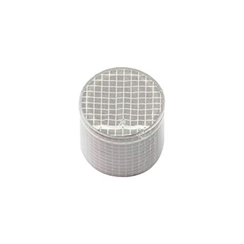Taylor Kelsen 5m Ornament Dekoration Grid Handwerk Sticky Paper Adhesive Aufkleber Washi Tape Scrapbooking (Grau)