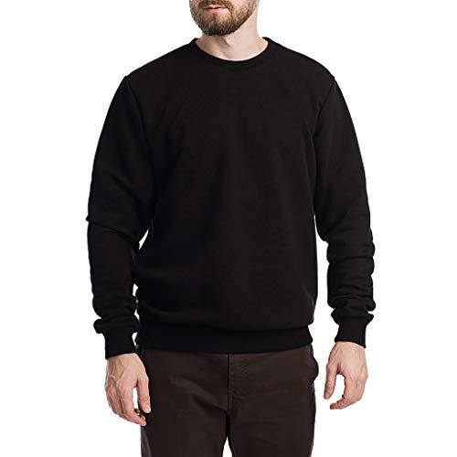 Haughtily Herren Zurück Printed Sweatshirt Mode Lässig Plus Size Langarm Pullover Tops Bottoming - Bauer Tops Kostüm