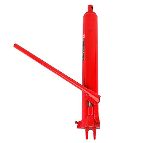 Preisvergleich Produktbild Iglobalbuy 8 Ton lange Ram-Buchse Hydraulischer manueller Arm-Austausch-Motor-Heber-Hebel-Kirsch-Picker
