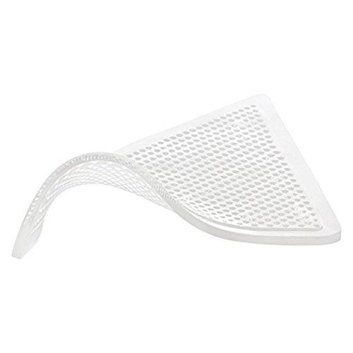 HaftPlus - Antirutschpad 8 Stück, Wiederverwendbare Antirutschmatte transparent, Haftet ohne zu kleben, Größe: 155 x 110 x 110 mm, Höhe: 2 mm - Belastbarkeit: 15kg pro Pad - Teppich-pad