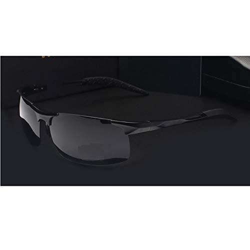 Ljtao Hochwertige Ultraleichte Aluminium-Magnesium-Sport-Sonnenbrille Polarisierte Männer Uv400 Rechteck Gold Outdoor Drive Sonnenbrille