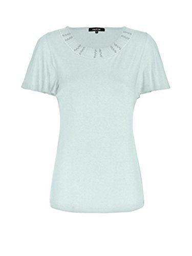 Shirt Damen mit Stickerei von Mocca by J.L. Mint