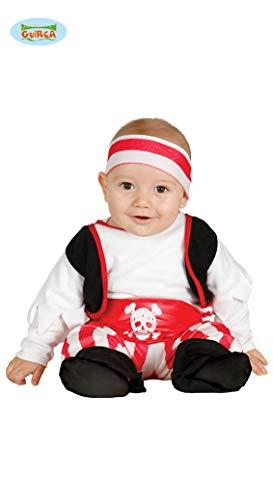 Baby Pirat - Kostüm für Kinder Gr. 74 - 98, ()