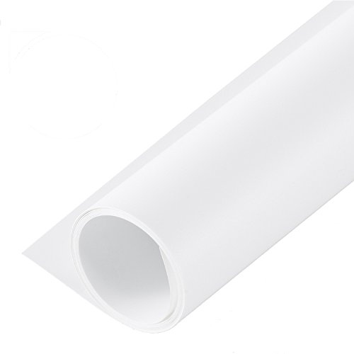 Wasserdicht PVC Foto Hintergrund Kulisse für Fotografie Weiß ()