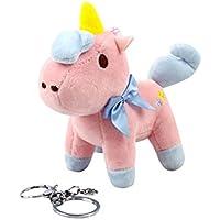 Toyvian Portachiavi Unicorno Portachiavi Unicorno Peluche 4 Pollici per  Regali Festa di Compleanno (Rosa) ecd2e2359c26