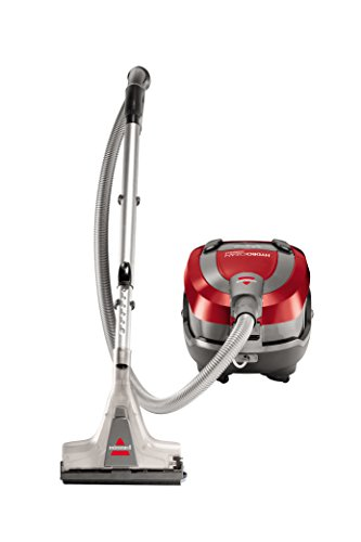 Bissell Hydroclean Compact 1991E 2.4-Liter Wet and Dry Vacuum Cleaner (Red)