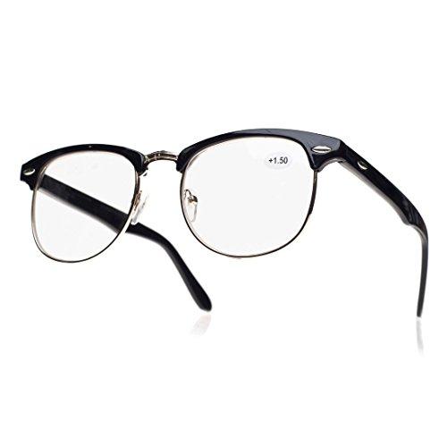 Gafas para leer, unisex, Original, Vintage, Retro +0.50 +0.75 +1.0 +1.5 +2.0 +2.5 +3.5 +4.00