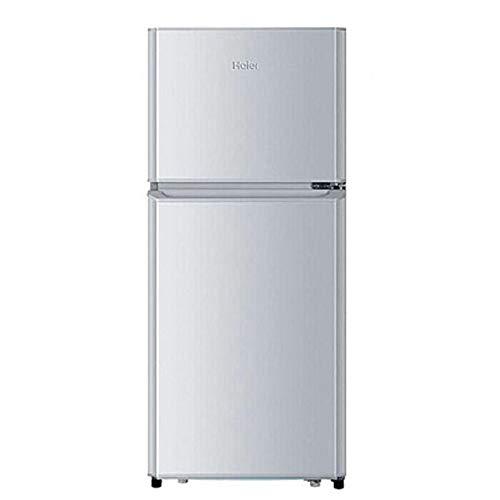MYYQ 2-Schicht-Doppeltür direkt kalt mit Frost Feste Frequenz kleinen Haushalt Mini-Energiespar-Kühlschrank 118L