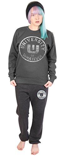 University of Whatever - Pantalon de sport - Femme - Varsity Carbone