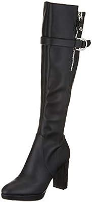 Guess ABALENE/Stivale (Boot)/Leather, Botas Altas para Mujer, , 37 EU