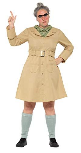 Dahl Kostüm Tag Roald - SMIFFY 'S 41537s Roald Dahl Deluxe Miss trunchbull Kostüm, beige, klein, UK 8-10