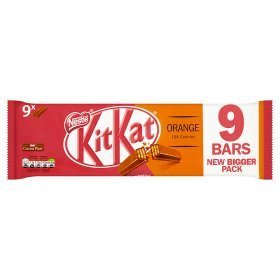 Kit Kat 2 Doigts D'Orange 8 X 20,8 G