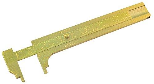 ROLSON TOOLS 59163 adipómetro latón 100 mm [tamaño