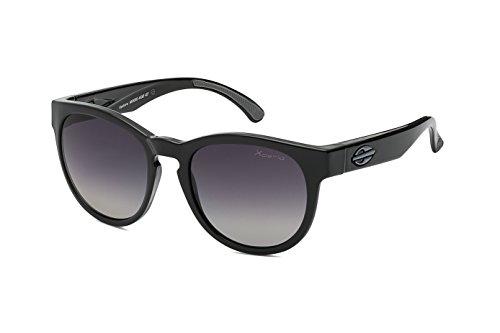 Mormaii Sonnenbrille Ventura, schwarz mit polarisiert Linsen
