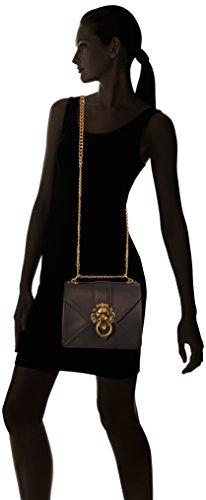 Chicca Borse Damen 1625 Schultertasche, 24x20x7 cm Marrone (TMORO)