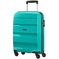 American Tourister Bon Air Spinner Bagage à Main, 55 cm, 31,5 L, Turquoise (Deep Turquoise)