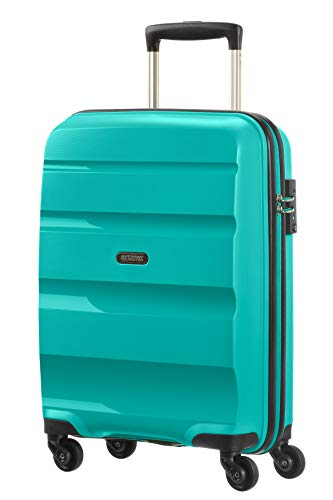 American Tourister Bon Air Spinner Bagaglio a Mano 55 Cm, 32 L, Blu (Deep Turquoise)