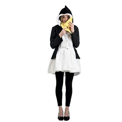 Limit Sport–Mantel und Schal-Kostüm Pinguin für Erwachsene, Größe L (ma685)