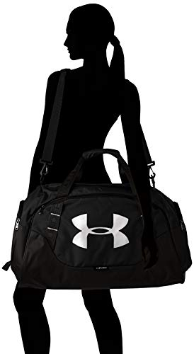 Under Armour Synthetic 11.8 inches Black Gym Bag (1300213) Image 6