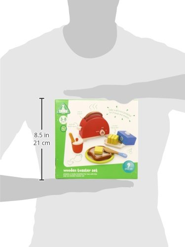 Early Learning Centre 135599 Wooden Toaster Toy