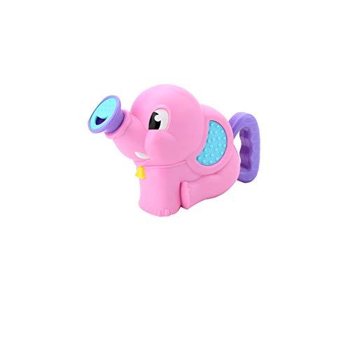 Wasser Squirt Baby-Bad-Spielzeug-Elefant Sprühwasserpumpe Bad Badewanne Spielzeug Schwimmbecken Wasser Spielen Geschenk für Kinder Kleinkinder Red 1PC