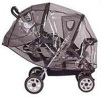 Supercover Baby GoGo Travel Duo Travel System Throwover Tandem Raincover by supercover