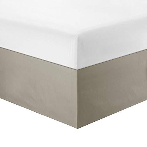 Samubo Einfarbiger Bettrock Matratze Dekorativer Bezug Polyester Elastische Bettrüschen Bed Rock (Twin/voll/König)